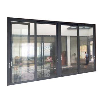 Heat insulation aluminium framed sliding glass door
