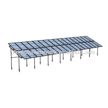 Solar ground PV mounting bracket system
