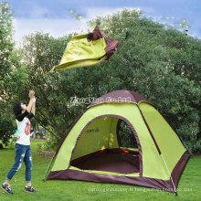 Tentes automatiques de plage en gros, tentes de famille de 3-4 personnes de haute qualité
