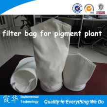 Filtração de líquidos saco de filtro de 50 microns para planta de pigmento