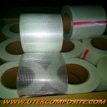 55GSM Fiberglass Mesh with PET Fiberglass for FRP