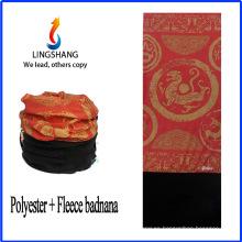Bandana de LINGSHANG bandana personalizado bandana imprime paño polar de tela polar multifuncional