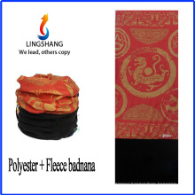 LINGSHANG seamless bandana custom bandana prints fabric polar fleece multifunctional bandana