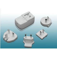 5V 1A Adaptador de alimentação USB adaptador de alimentação intercambiável
