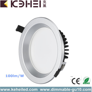 Aluminium 6 pouces LED Downlights 12W 3000K