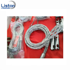 Wire Rope Pull Grip Mesh Socks Cable Strumpor