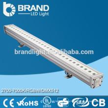 Epistar LED Chips RGB 12 * 3W DMW Addressable Pared de LED arandela con la pantalla CE RoHS