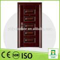 Diseño popular de alta calidad de la puerta en la puerta de la seguridad del mercado de Irán para el hogar usando