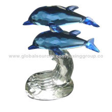 Crystal Figurine, Various Styles, Colors and Designs Available