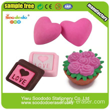 Puzzle 3D Romantic Valentine Love Erasers Gifts