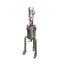 Vacuum paint mixing tank with agitator