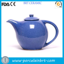 Blue Glazed Novelty Ceramic Tea Pot