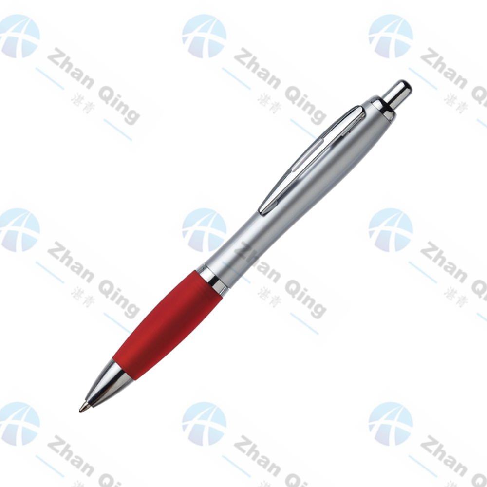 Hot Selling Plastic Pen with Metal Clip