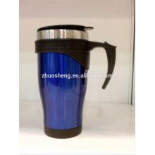 Оптовые продажи матовым покрытием бесплатный образец кофе кружку, кофе кружка производитель