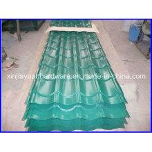 Folha de telhado de aço pré-pintado ondulado