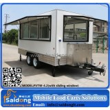 Hot selling mobile food truck/mobile food van/snack food trailer design
