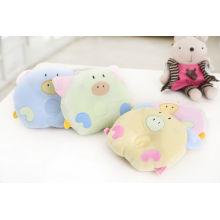 Almohada de algodón de diseño lindo para bebé recién nacido