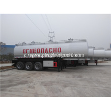 Aluminium Tank Semi Trailer for fuel transportion