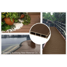 Regular WPC Outdoor Flooring for Outdoors, Flower Box, Garbage Board
