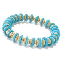 Brazaletes de aleación de moda Bracet brazaletes de resina