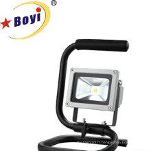 Lumière de travail rechargeable de la puissance élevée 10W LED