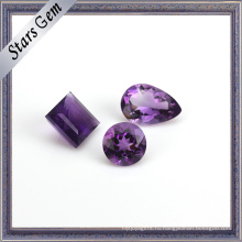 Myterious фиолетовый природный Аметист драгоценный камень для ювелирных изделий