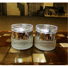 30g 30ml Round Empty Frosted Glass Cosmetic Cream Jar