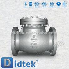 Fábrica de fundição de qualidade confiável Didtek válvula de retenção silenciosa