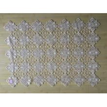 St16-10 tecido de renda usado para toalha de mesa