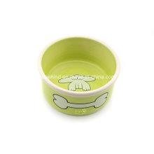 Customized cerâmica especial Pet Bowl