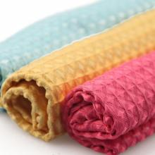 Promotional Microfiber Waffle Car Cleaning Cloth