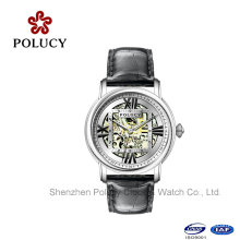 Automatische mechanische Skelett Armbanduhr