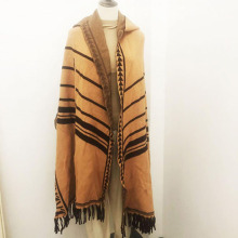 Bufanda de flecos de otoño personalizada