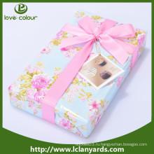 Декоративные полиэстер Дешевые пользовательские Розовый атласная лента