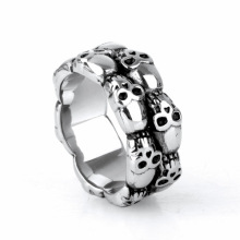 Stainless steel forged ring terminal for men