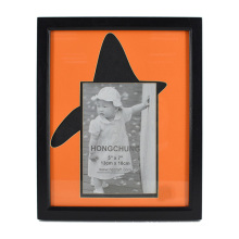 Orange New White MDF Frame for Home Decor