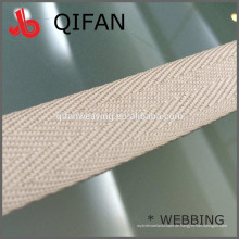 PIPING WEBBING 20mm HERINGBONE BAND