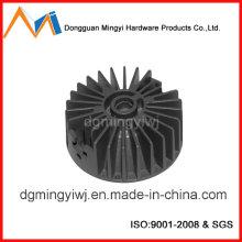 Fabricación de fundición de inyección de aluminio para el disipador térmico que aprobó ISO9001-2008 hecho en Dongguan
