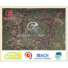 300d DTY Oxford Digital Pattern Camouflage Tent Fabric with PU Coating (ZCBP249)