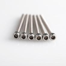 Ventes chaudes M2, M2.5, M3, M4 Bouton Socket Hex Vis en acier inoxydable