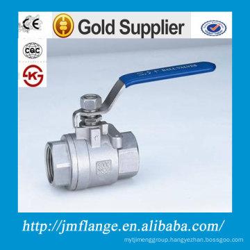 two-pieces ball valve