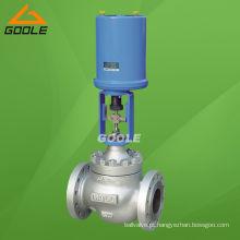 Válvula de controle de pressão atuada elétrica tipo globo (ZDLP)