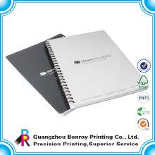 Alta qualidade Agenda de Impressão Personalizada reforçada caderno espiral