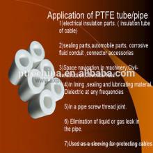Ptfe tubos China produtos, cheio de fibra de carbono ptfe tubo ptfe, tubo ptfe