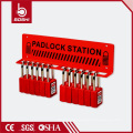 Accept 5 Steel Padlock Station