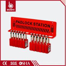 Akzeptiere 5 Steel Padlock Station