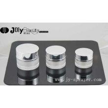 Top-Selling rundes Acryl-Kosmetik-Glas