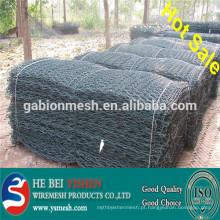 (Fábrica) Gabion mesh / gabion mesh galvanizado / PVC revestido gabion mesh / zinc-liga gabion mesh / China gabion mesh