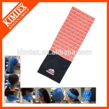 Pañuelo al por mayor de la bufanda del poliester del tubo del cuello del paño grueso y suave de Microfiber