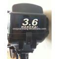 motor de pequeno barco a motor de 2 tempos 3.6hp HANGKAI